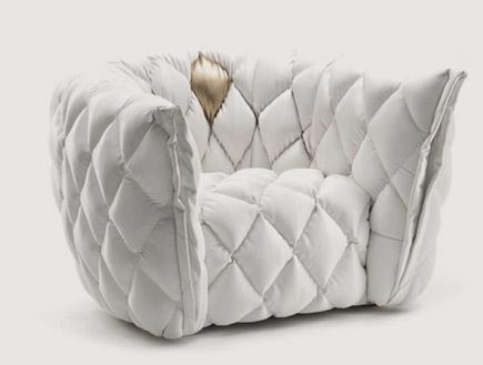 """כורסא של אריק בן שמחון- בית לבן (יח``צ: יח""""צ אריק בן שימחון)"""