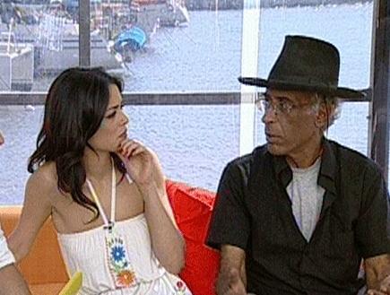 יהודה קיסר ראיון (תמונת AVI: מומה)