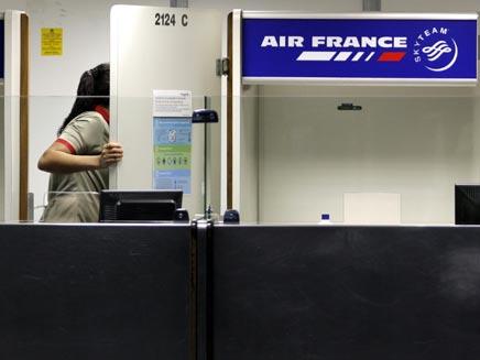 "נוסעים ב-124 טיסות ""אייר פראנס"" נשדדו. צילום ארכיו (צילום: רויטרס)"