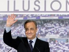 פלורנטינו פרס, נשיא ריאל מדריד
