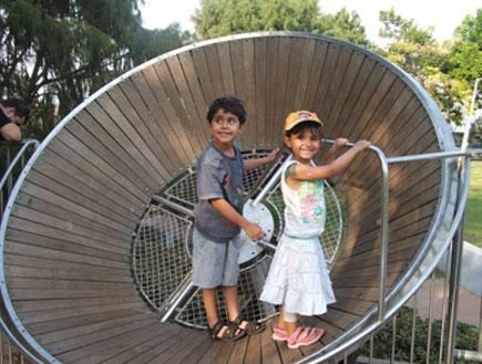 יום כיף: ילדים בפארק המדע (צילום: שירלי אהרון)