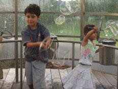 יום כיף: ילדים בפארק המדע