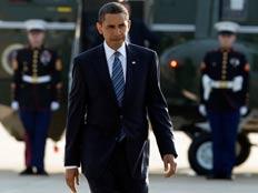 הנשיא אובמה בבעיה . ארכיון (צילום: רויטרס)
