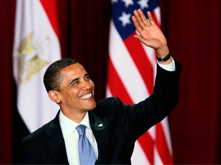 ביקור נשיאותי ראשון של אובמה (צילום: רויטרס)