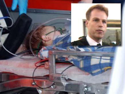ארי שמאי חשוד כי זרק סכין בשוק ופגע בתינוקת (צילום: חדשות 2)