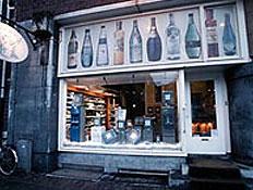 חנות מים מינרלים באמסטרדם The Waterwinkel (צילום: אתר אוגוסטה)