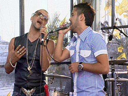 אלון דה לוקו וליאור מיארה שיר 1 (תמונת AVI: מומה)
