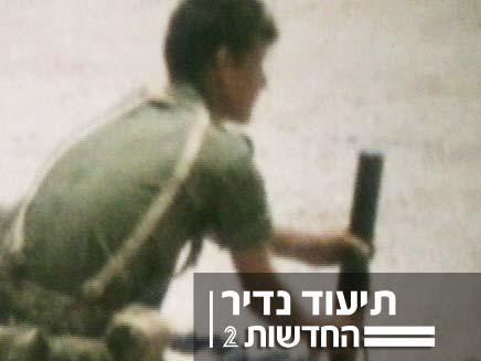תיעוד נדיר של חיילים במלחמת ששת הימים (צילום: אלי מריומה)