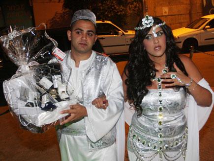 עינב בובליל ואלי בניסטי בחגיגות החנה (צילום: קובי בכר)