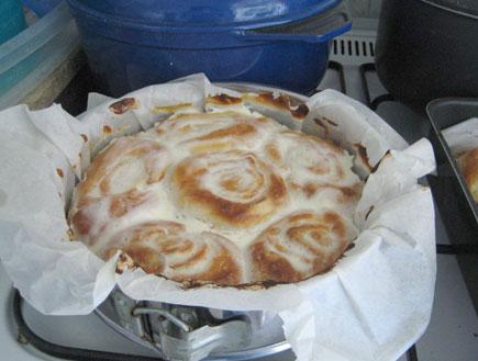 עוגת שושנים (צילום: דן-יה שוורץ)