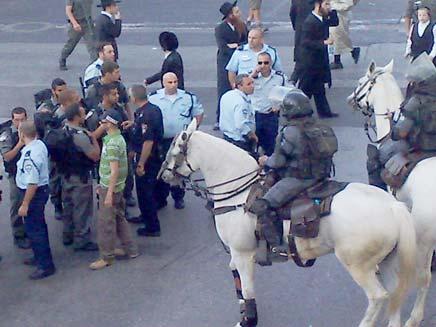 עימותים בירושלים, ארכיון (צילום: חדשות 2 - יוסי זילברמן)
