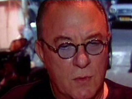 בועז בן ציון סוכן השחקנים סוכנו של דודו טופז לשעבר (צילום: חדשות 2)