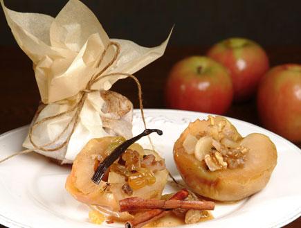 תפוחים אפויים (צילום:  יחסי ציבור )