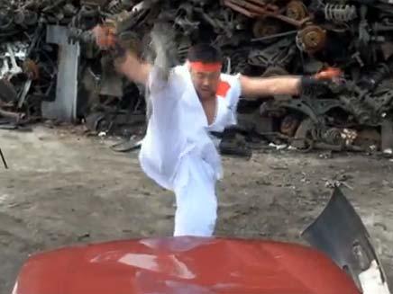 נינג'ה הורס מכוניות (צילום: מתוך אתר youtube)