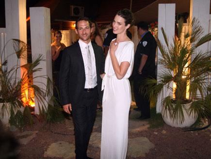 חתונה יעל גולדמן ואורי פפר (צילום: אורי אליהו)