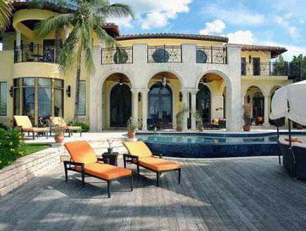 הוילה של אריסון במיאמי - מבפנים (צילום: איב דייגו, גלובס)
