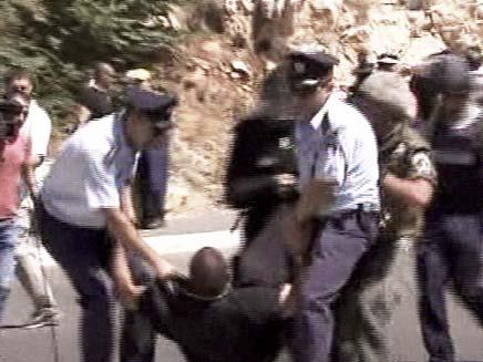 הפגנות הדרוזים (צילום: חדשות 2)
