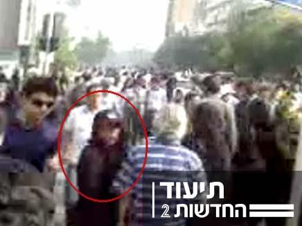האישה האירנית שנהרגה במהלך ההפגנות בטהרן (צילום: חדשות 2)