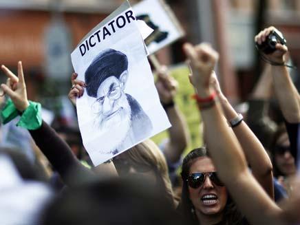 הפגנה באירן, 2009 (צילום: רויטרס)