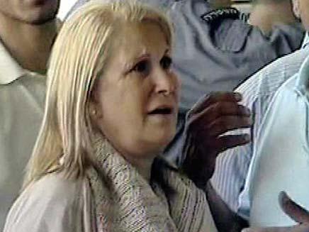 אסתר אבוטבול אמם של אסי ופרנסואה (צילום: חדשות 2)