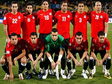 נבחרת מצרים בכדורגל (צילום: רויטרס)