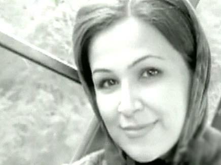 תמונה של נדה שנורתה ומתה בהפגנות בטהרן (צילום: חדשות 2)