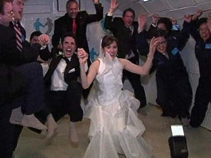 חתונה ללא כוח משיכה (צילום: חדשות 2)