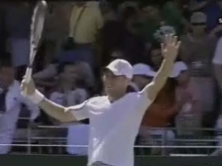הטניסאי דודי סלע (צילום: ערוץ הספורט)