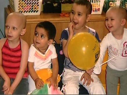 ילדים חולים בלוקמיה (צילום: חדשות 2)