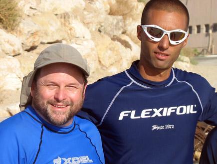 גל פרידמן וג'ייסון אלכסנדר (צילום: mako)