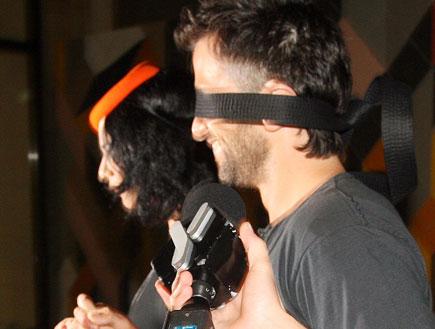 מסיבת הפתעה ליהודה לוי והחברה נינט טייב 6 (צילום: אורי אליהו)
