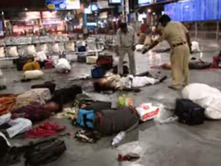 תמונות ששוחררו מפיגוע הטרור במומבאי (צילום: channel 4)