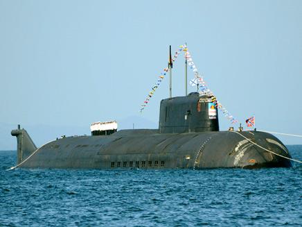 צוללת גרעינית רוסית, ארכיון (צילום: רויטרס)