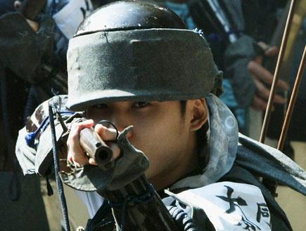סמוראי ביפן (צילום: Koichi Kamoshida, GettyImages IL)