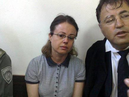 אולגה בוריסוב בבית המשפט המחוזי בתל אביב (צילום: חדשות 2)