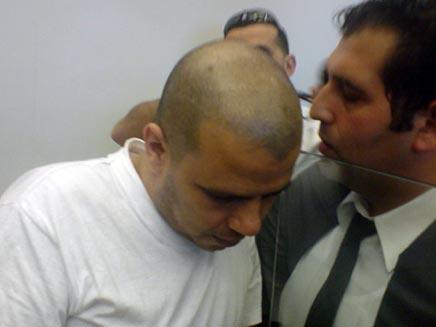 עדואן יחיא פרחאן מואשם ברצח דנה בנט (צילום: גדעון וקנין)