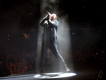 U2 LIVE 6 (צילום: Getty Images, GettyImages IL)