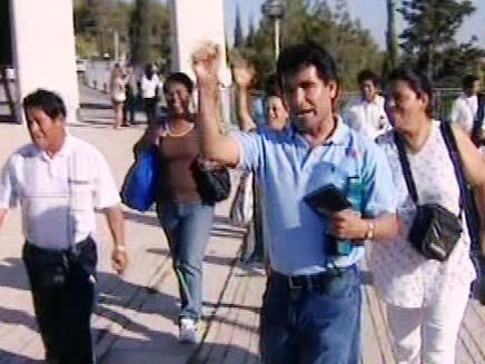 מהגרים מאקוודור (צילום: חדשות 2)