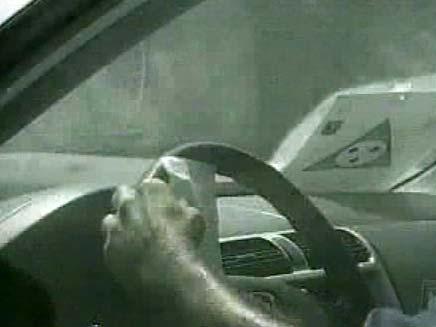 נהיגה בהפרעה (צילום: חדשות 2)