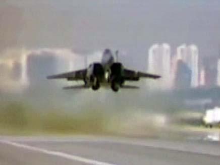 """חיל האוויר מבצע טיסות בארה""""ב (צילום: חדשות 2)"""