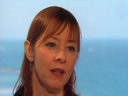 סוזן וגה בארץ (צילום: חדשות 2)