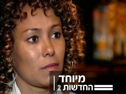 נגה זוריאש שנדרסה מדברת לראשונה (צילום: חדשות 2)