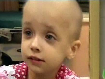 נויה ילדה חולת סרטן (צילום: חדשות 2)