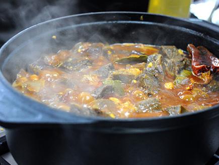 תבשיל בשר (צילום: מירי ואבי רביבו)