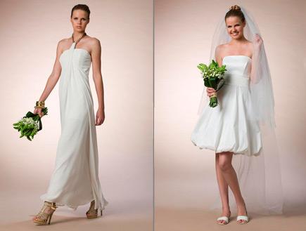 שמלות כלה של סיגל דקל (צילום: מתוך קטלוג פמינה 2010, עידו לביא (ארכיון),  יחסי ציבור )