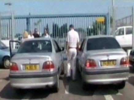 מכונית משוכפלת (צילום: חדשות 2)