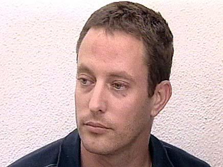 אסף גולדרינג שרצח את בתו נועה (צילום: חדשות 2)
