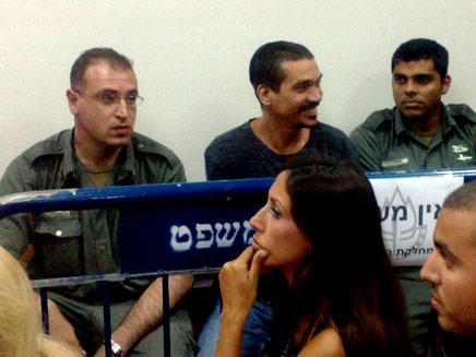אברג'יל הצעיר בבית המשפט (צילום: יוסי זילברמן, חדשות 2)