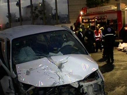 תאונת דרכים, ארכיון (צילום: חדשות2)