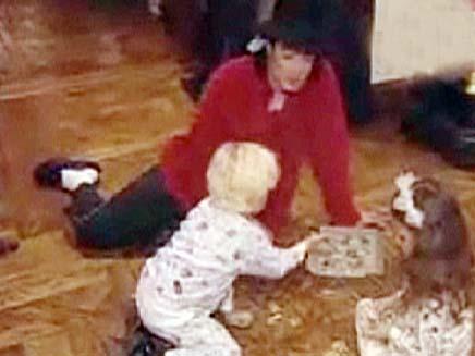 מייקל ג'קסון והילדים (צילום: חדשות 2)